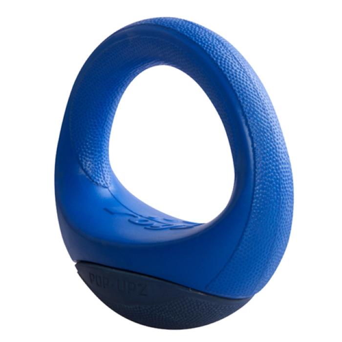 Rogz-Pop-Upz-Dog-Toy-Blue