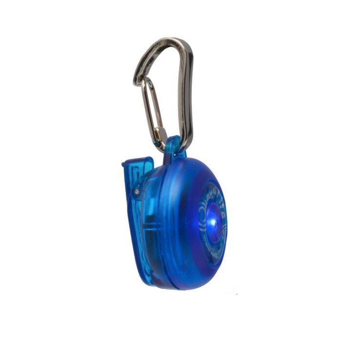 Rogz Roglite Safety Light Blue Side