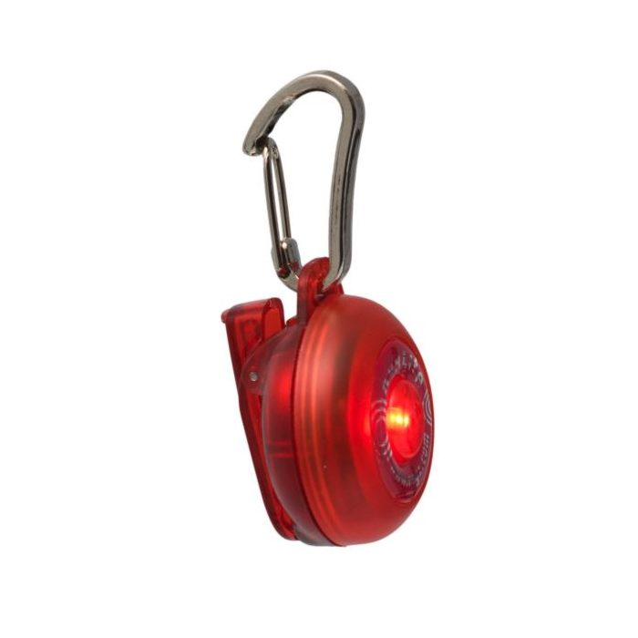 Rogz Roglite Safety Light Red Side