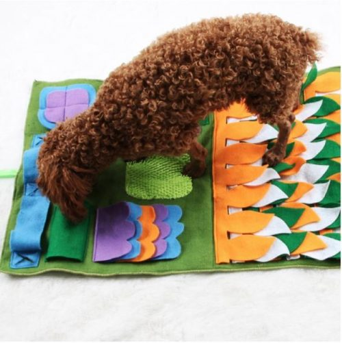 Green Activity Puzzle Snuffle Mat for Dogs