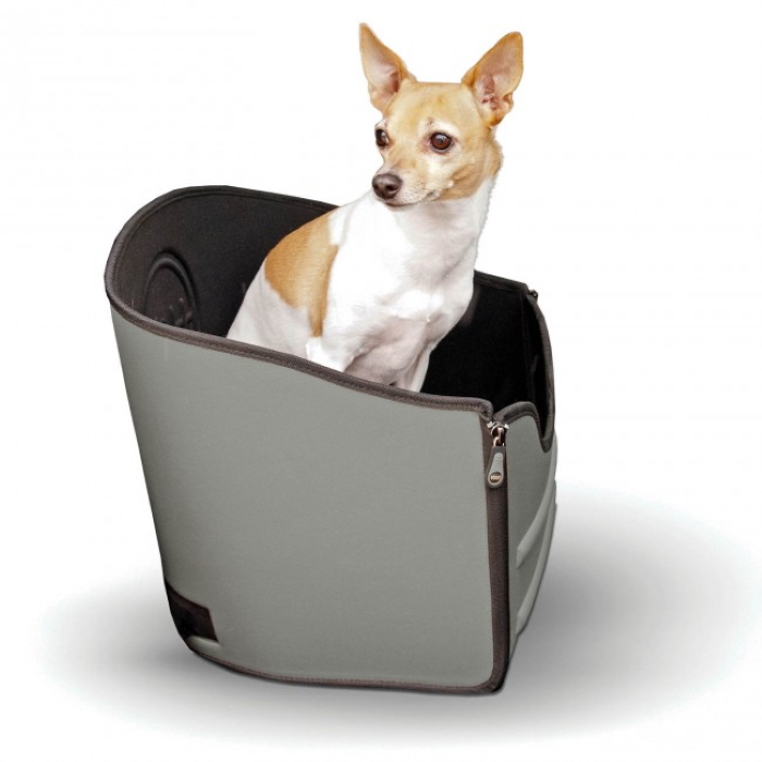 K&H Mod Pet Safety Car Seat _Grey