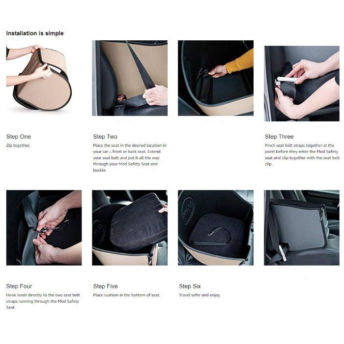 K&H Mod Safety Seat _Installation