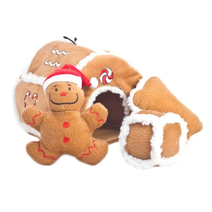 Outward Hound Hide a Toy Gingerbread House