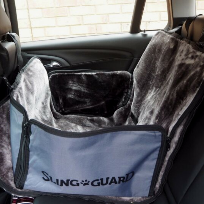 SlingGuard Half Rear Hammock Car Seat Cover for Dogs