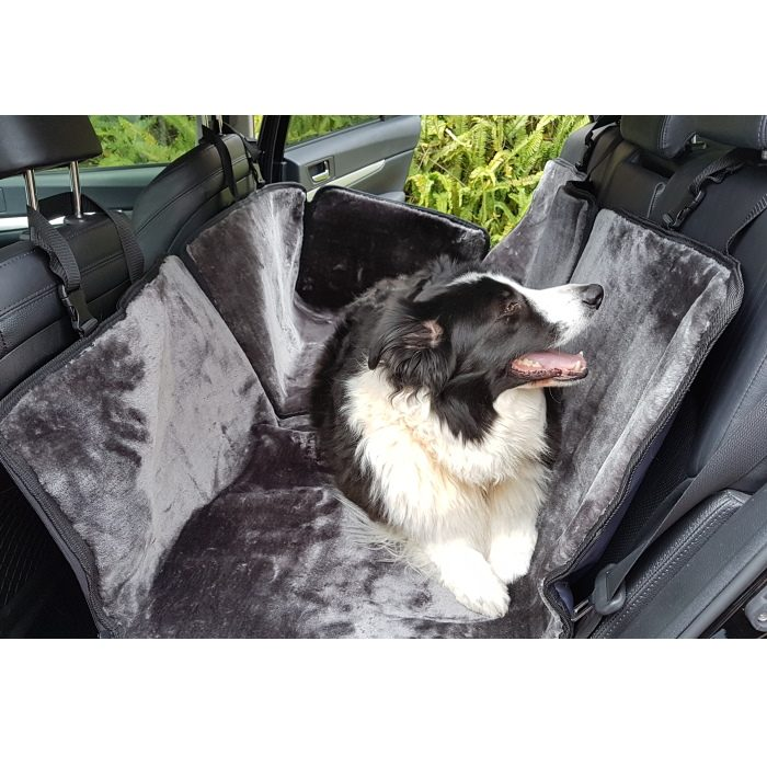 SlingGuard Luxurious Hammock Rear Car Seat Cover