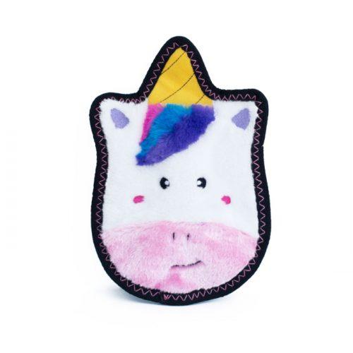 Sprinkles the Unicorn ZippyPaws Tough Z-stitch dog toy