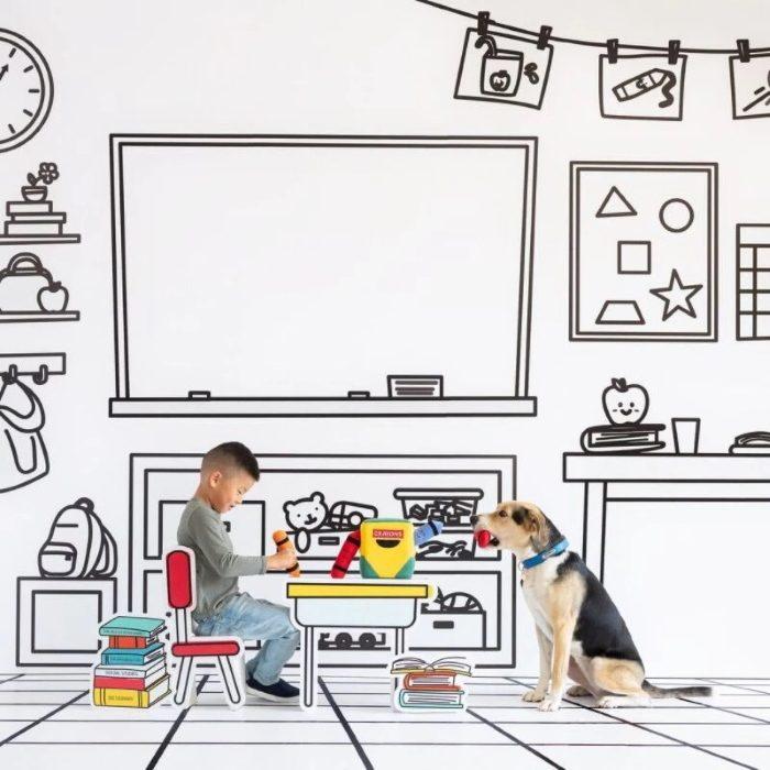 Zippy Burrow ZippyPaws Crayon Box Interactive Dog Toy