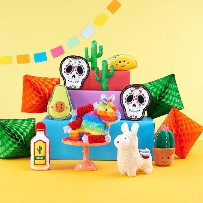 ZippyPaws Fiesta collection Dog Toys