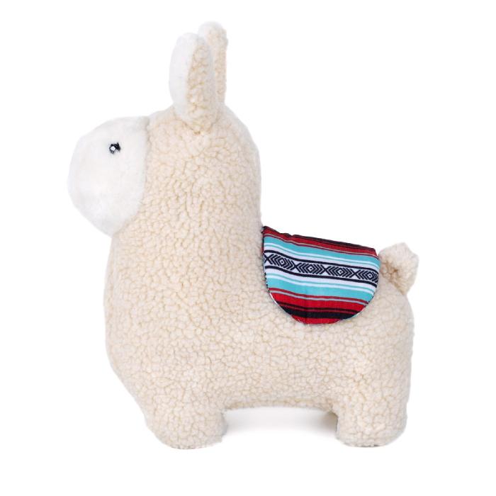 ZippyPaws Liam the Llama Dog Toy