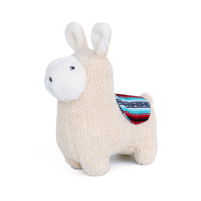 ZippyPaws Liam the Llama Squeaker Dog Toy