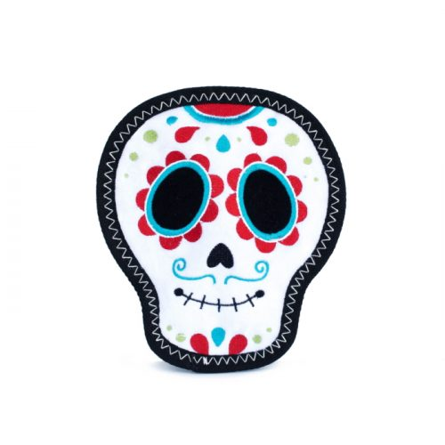 ZippyPaws Santiago the Sugar Skull Z-Stitch Toy