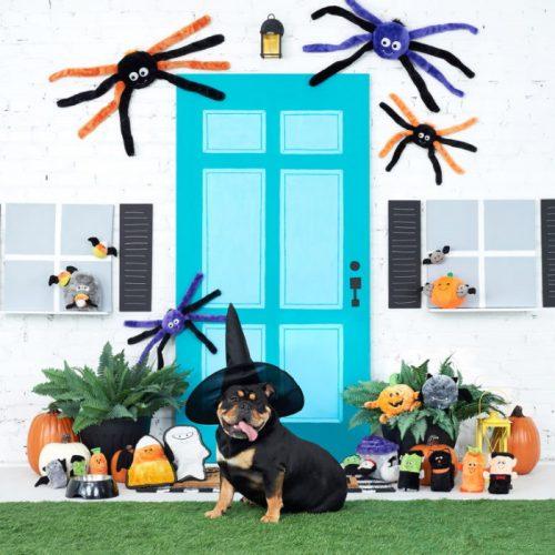 ZippyPaws Z-Stitch Tough Dog Toy Halloween Mummy