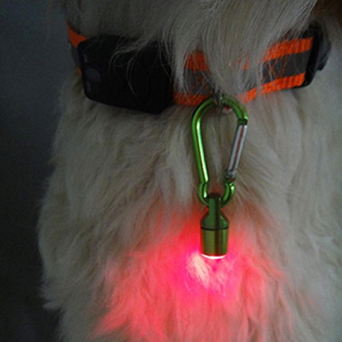 BlingBlingBlinkers Dog Collar LED Safety Lights