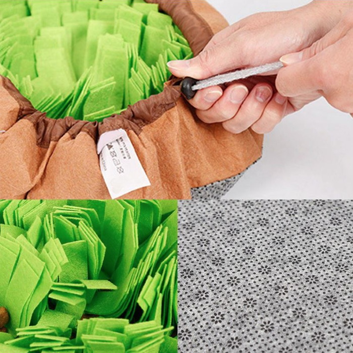 Round Cinch Top Snuffle Mat Bowl_Features