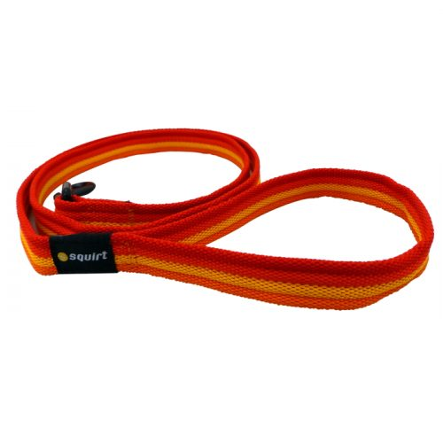 Squirt Spectrum Dog Lead 1.2m Rainbow Red
