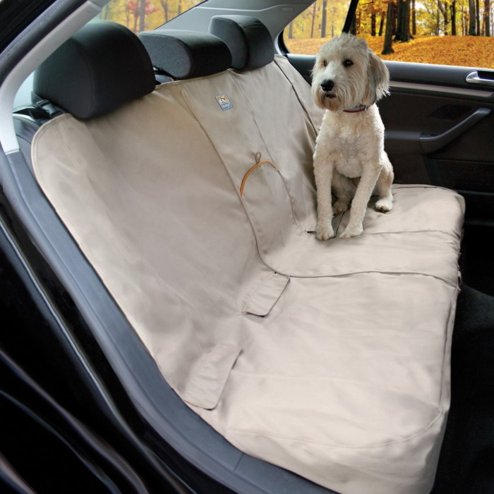 Kurgo Bench Seat Cover_Hampton Sand
