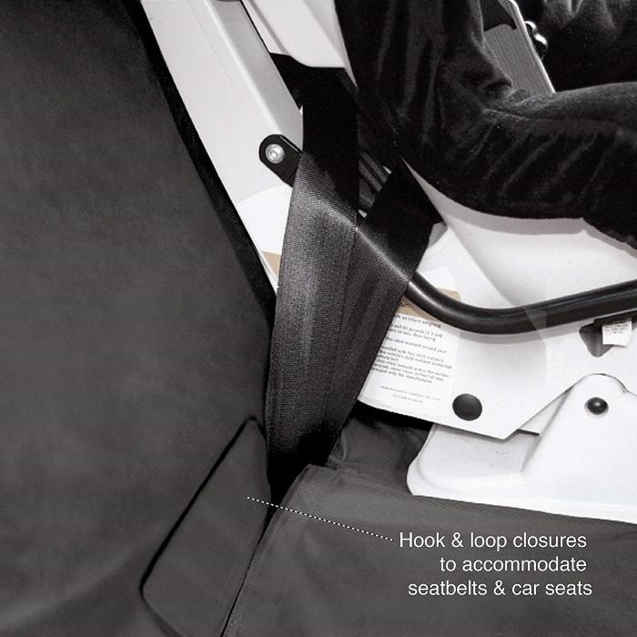 Kurgo Bench Seat Cover_SeatBelt Slots