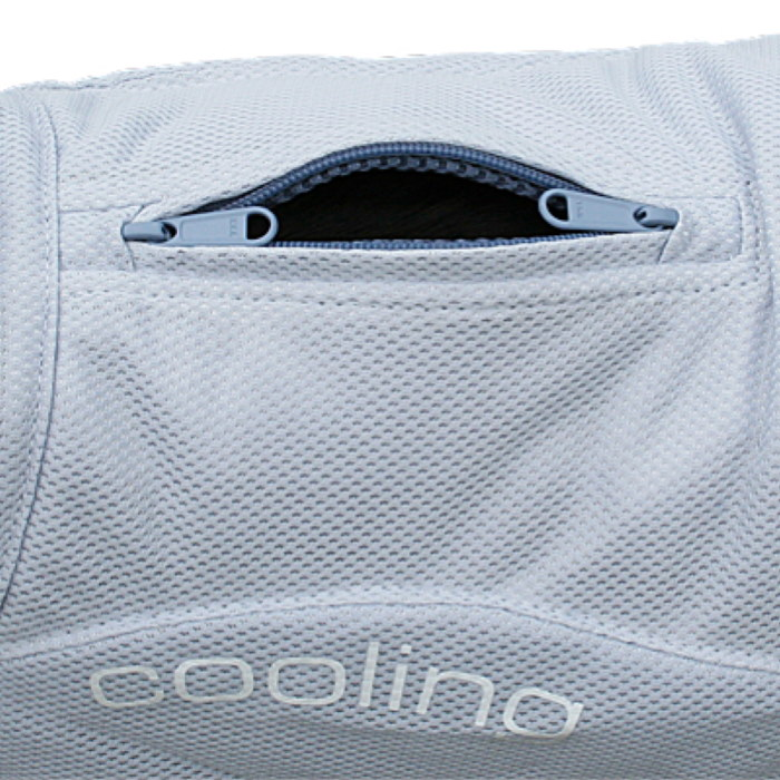 Kurgo Core Cooling Dog Vest_2wayzipper