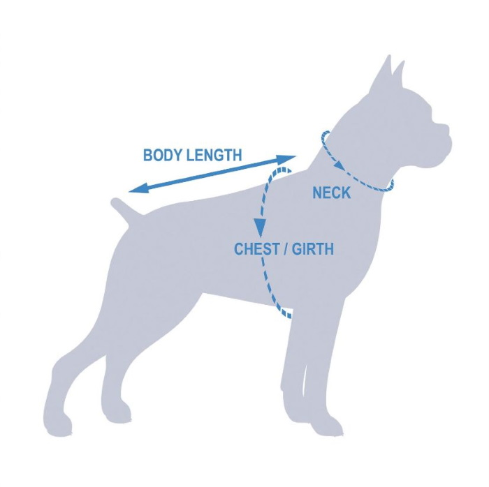 Kurgo Core Cooling Dog Vest_How to measure