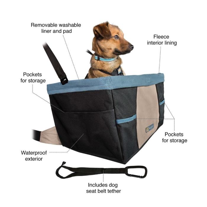 Kurgo Rover Dog Booster Car Seat_Features