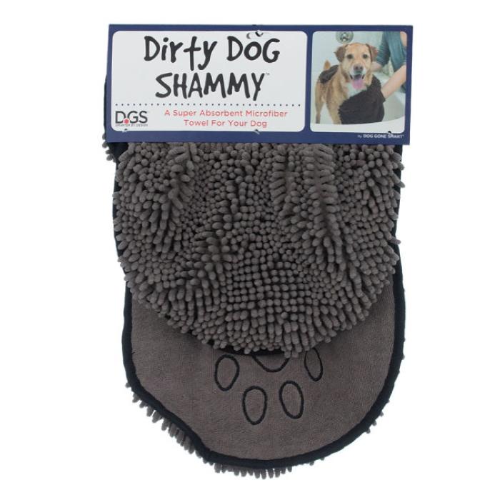 DGS Dirty Dog Shammy Towel Grey