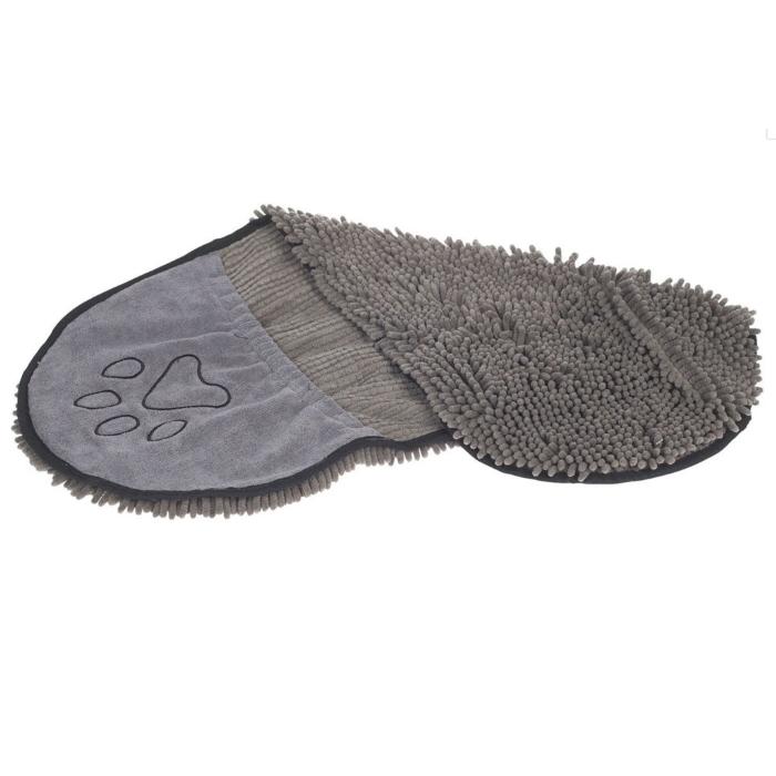 Dirty Dog Shammy Towel Grey