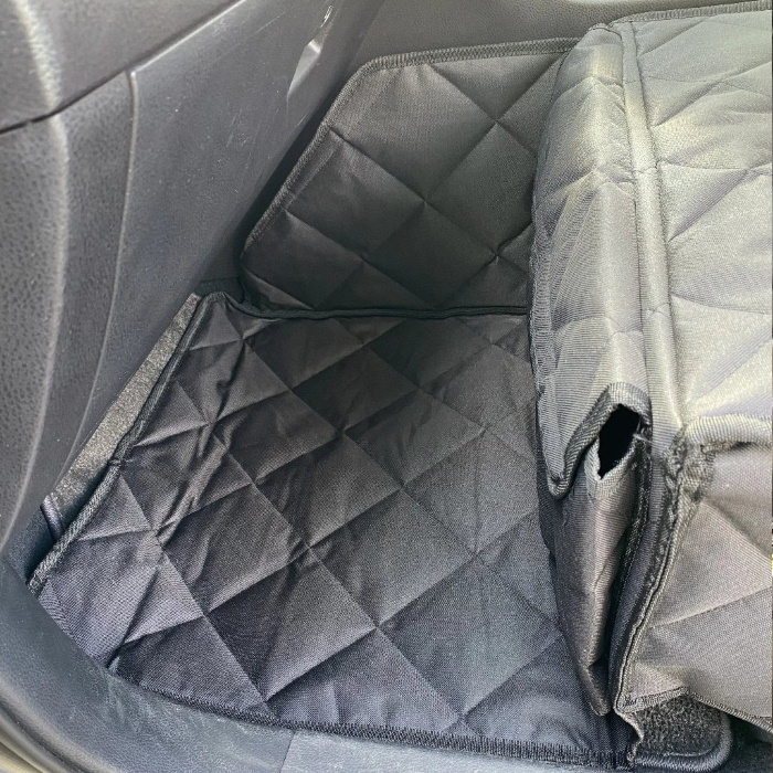 Pawmanity Front Seat Cover for Dogs_Footwell