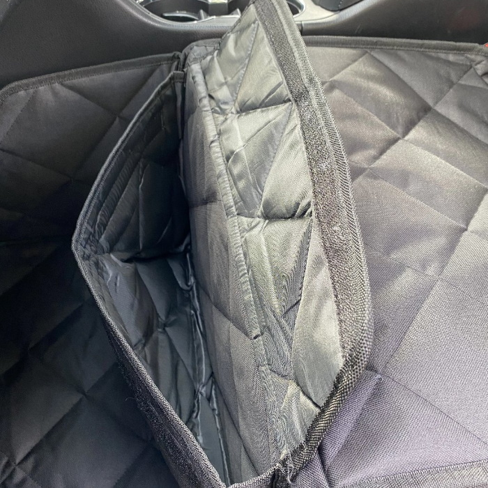 Pawmanity Front Seat Cover for Dogs_Storage pocket