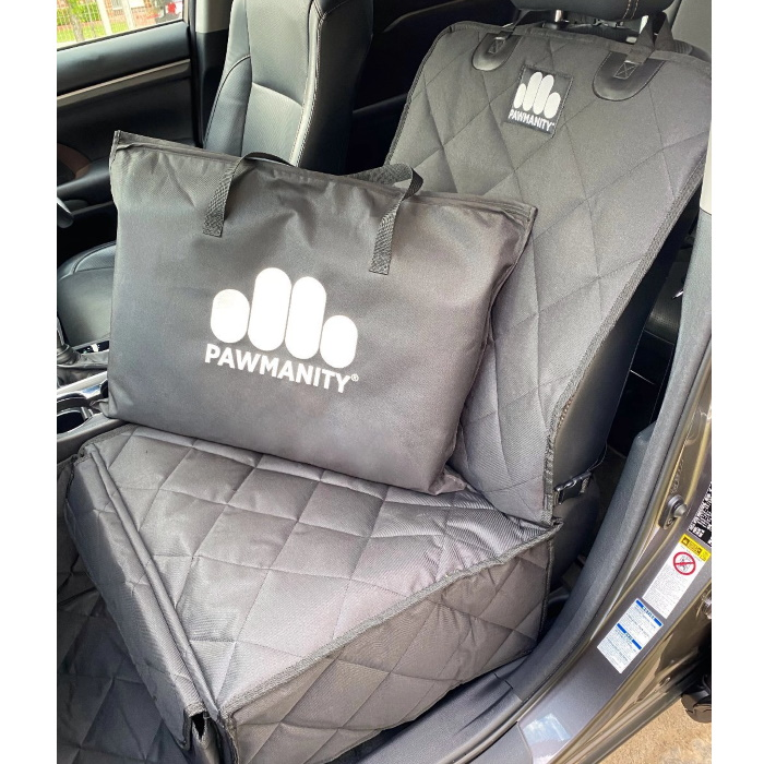 Pawmanity Front Seat Cover for Dogs_storage bag