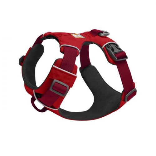 Ruffwear Front-Range-Harness-Red-Left