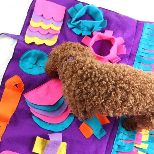 Activity Snuffle Mat for Dogs Purple