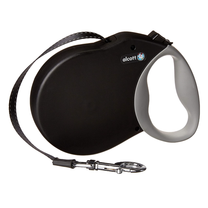 Alcott Expedition Retractable Dog Lead Black XL