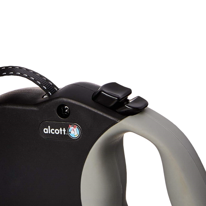 Alcott Expedition Retractable Leash Black