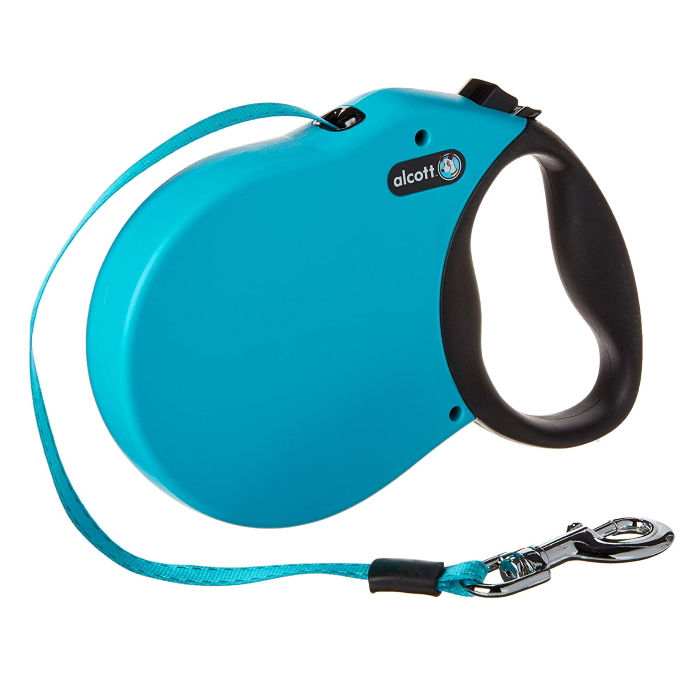 Alcott Expedition Retractable Dog Lead Blue XL