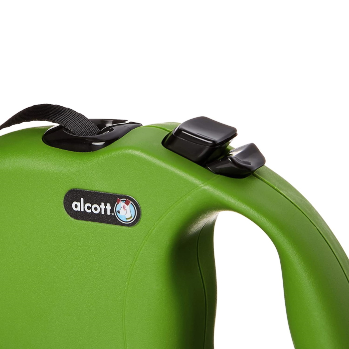 Alcott Wanderer Retractable Lead Green
