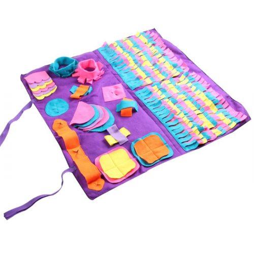 Dog Activity Snuffle Mat Large Purple