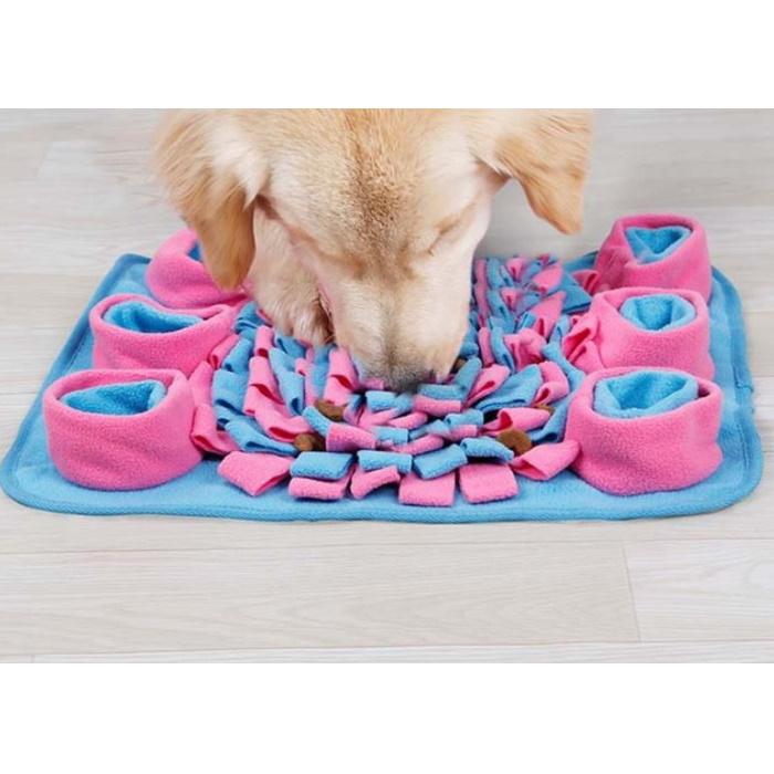 Dog Snuffle Activity Mat Pink_Blue