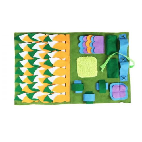 Green Puzzle Snuffle Mat for Dogs