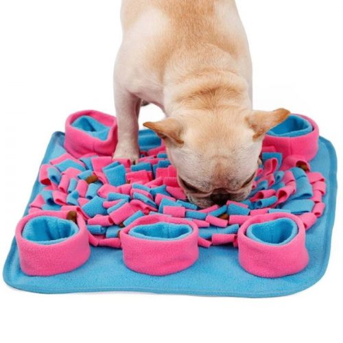 Pet Activity Snuffle Mat Pink_Blue