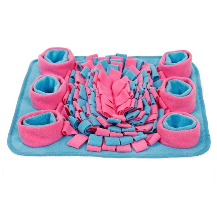 Pet Snuffle Mat Pink_Blue