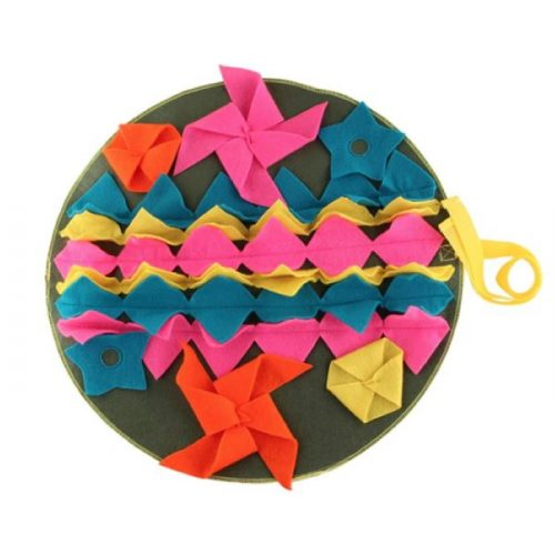Round Snuffle Food Mat Teal