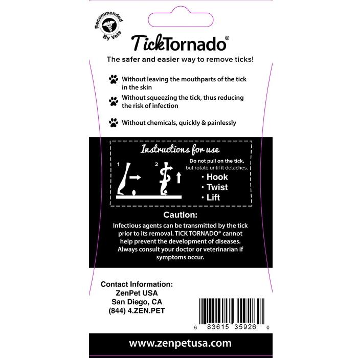Tick Tornado Tick Remover Pack