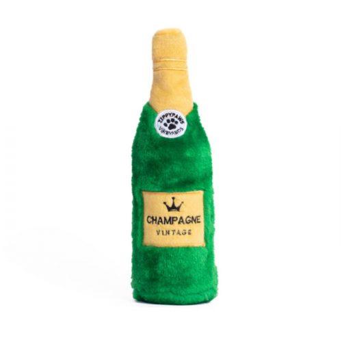 Zippy Paws Crusherz Dog Toy - Champagne Bottle