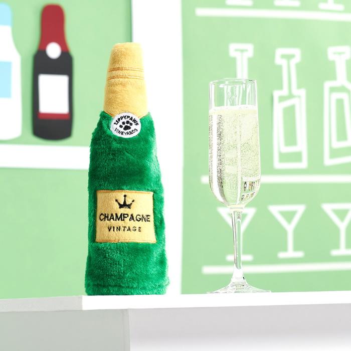 Zippy Paws Crusherz Dog Toy - Champagne Lifestyle