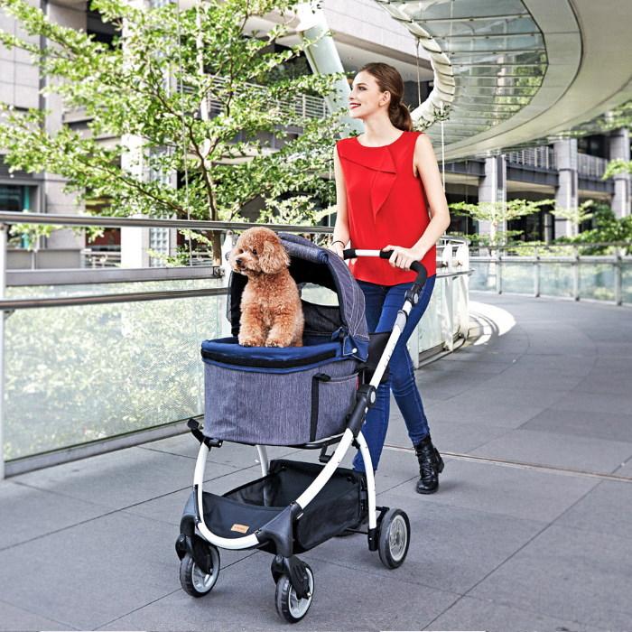 Ibiyaya Cleo Multifunctional Pet Stroller & Car Seat Travel System