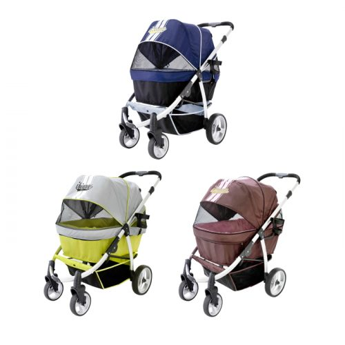 Ibiyaya Collapsible Retro Dog Stroller Range