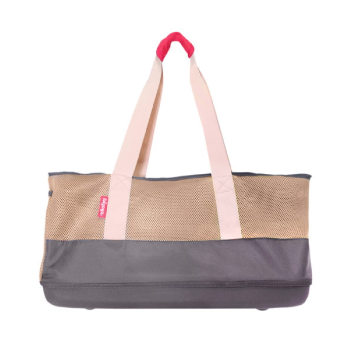 Ibiyaya Pet Carrier Tote Dachshunds & Long Pets_Khaki