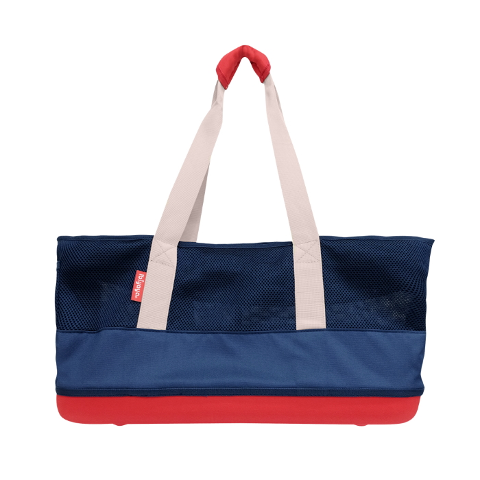 Ibiyaya Pet Carrier Tote Dachshunds & Long Pets_Navy