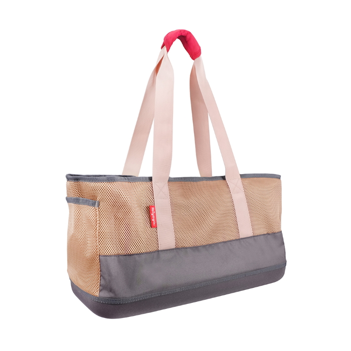 Ibiyaya Pet Carrier Tote_Dachshunds & Long Pets_Khaki