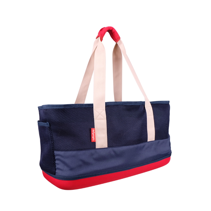 Ibiyaya Pet Carrier Tote_Dachshunds & Long Pets_Navy